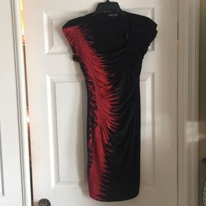 Rampage Black and Red Dress